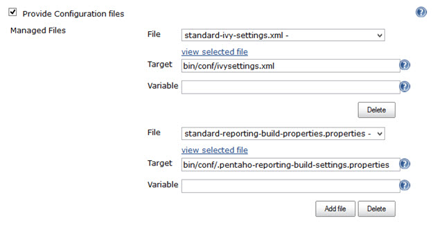 jenkins-config-files